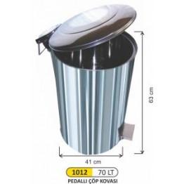 Endüstriyel Pedallı Çöp kovası 70 Litre