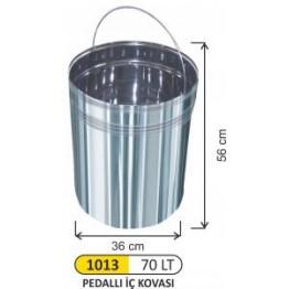 Pedallı 70 Litre Çöp İç Kova