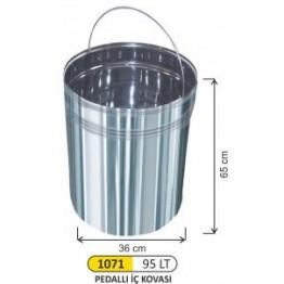 Pedallı 95 Litre Çöp İç Kovası