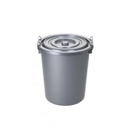 Mono Tone Yuvarlak Çöp Kovası 27 Lt