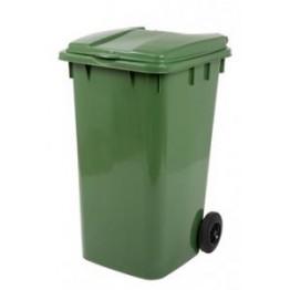 Endüstriyel Çöp Kovası 240 LT. Yeşil
