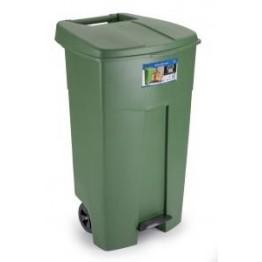 Mono Tone Endüstriyel Çöp Kovası Pedallı 125 LT. Yeşil