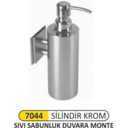 Krom Sıvı Sabunluk duvara montajlı
