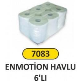Emotion havlu 6 lı paket 21 cm
