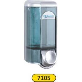 Sıvı Sabun Şampuan Verici 0.600 ml Mat Krom