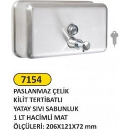 Steltek Sıvı Sabunluk Yatay 1 litre