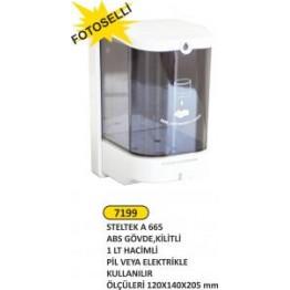 Steltek Fotoselli sıvı sabunluk dezenfektan verici 1 lt
