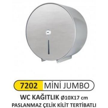 Mini Jumbo wc Kağıtlık Paslanmaz