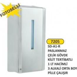 Fotoselli sıvı sabunluk 1 lt krom