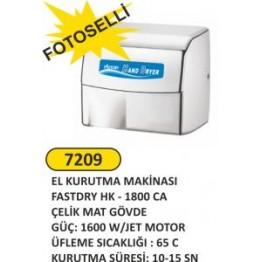 Fotoselli el kurutma makinası fastdry hk - 1800 ca