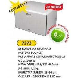 Fotoselli el kurutma makinası jet motorlu fastdry ecofast 1000w
