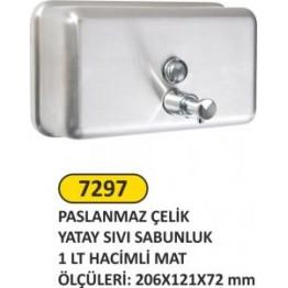 Sıvı Sabunluk Yatay 1 litre mat