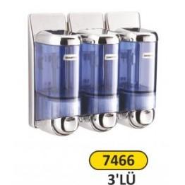 Sıvı Sabunluk ve Şampuan Verici 3 lü 0.170 ml