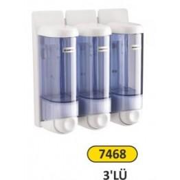 Sıvı Sabun ve Şampuan Verici  0.250 ml 3 lü