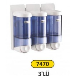 Sıvı Sabun ve Şampuan Verici  0.170 ml 3 lü