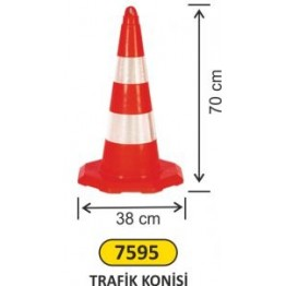 Trafik Konisi 70 cm
