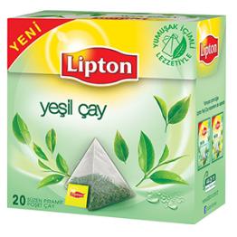 Lipton Yeşil Piramit Poşet Çay