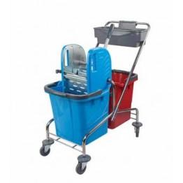 Rindo Çift Kovalı Temizlik Seti 2x25 LT Sepet