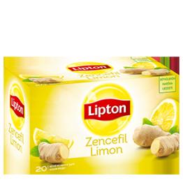 Lipton Zencefil Limon Bitki Çayı